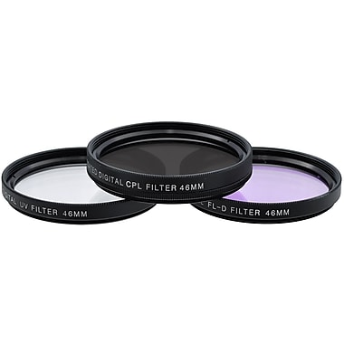 Xit Pro Series 46mm Multi Coated HD 3-Piece Digital Filter Set