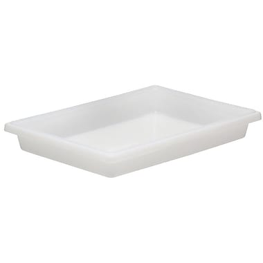 Cambro 1218CP148 Polycarbonate Food Storage Box Cover, White