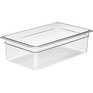 Cambro 32CW135 Gastronorm Third Size Pan, Clear, 2-1/2