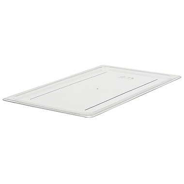 Cambro 10CWC-135 Food Pan Lid, Full Size, Flat, 6/Pack