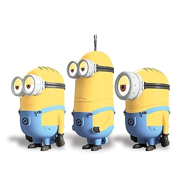 EP 8GB Despicable Me Minions Novelty 2.0 USB Flash Drive, 3/Pack