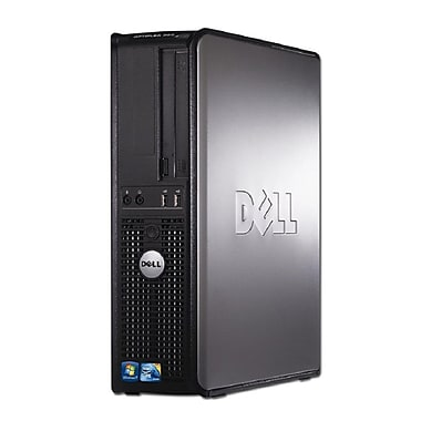 Dell Optiplex 380 Refurbished Desktop, 2.93GHz Intel Core2 Duo E7500, 4GB RAM, 160GB, DVD/RW, WI-FI, Win7 Pro, English