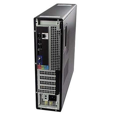 Dell – PC de table Optiplex 390 DT remis à neuf, Intel Core i5 2400 à 3,1GHz, RAM 4 Go, DD 250 Go, DVD/RW, Win 10 Pro