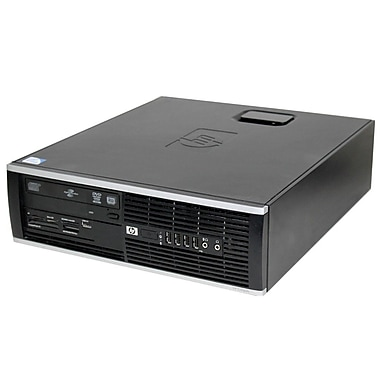 HP 6000 Pro Refurb SFF Desktop, 3GHz Intel Core2 Duo E8400, 4GB RAM, 160GB, DVD/RW, NVIDIA Geforce with HDMI, Win10, English