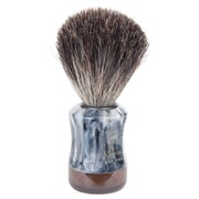 Kingsley for Men Pure Badger Bristle Shave Brush-Faux Marble Handle (SB-8004)