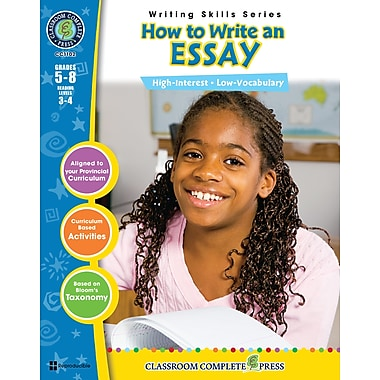 How to Write an Essay, Grades 5-8, ISBN 978-1-55319-394-4