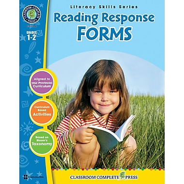 eBook: Reading Response Forms, Grades 1-2 (PDF version, 1-User Download), ISBN 978-1-55319-398-2