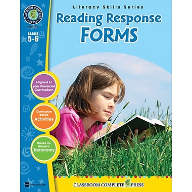 eBook: Reading Response Forms, Grades 5-6 (PDF version, 1-User Download), ISBN 978-1-55319-400-2