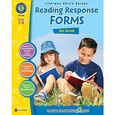 eBook: Reading Response Forms Big Book, Grades 1-6 (PDF version, 1-User Download), ISBN 978-1-55319-401-9