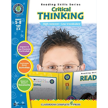 Critical Thinking, Grades 5-8, ISBN 978-1-55319-486-6