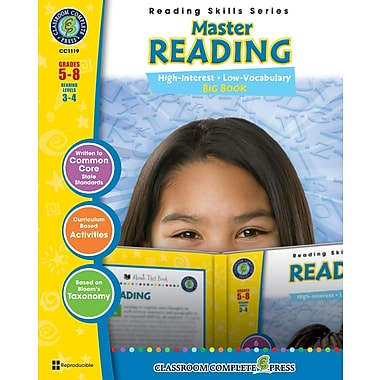 eBook: Master Reading Big Book, Grades 5-8 (PDF version, 1-User Download), ISBN 978-1-55319-487-3