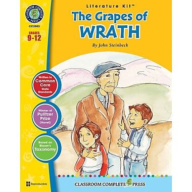 The Grapes of Wrath Literature Kit, Grades 9-12, ISBN 978-1-55319-974-8
