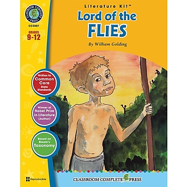 Lord of the Flies Literature Kit, Grades 9-12, ISBN 978-1-77167-000-5