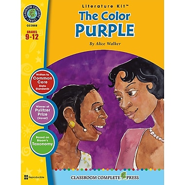 The Color Purple Literature Kit, 9e à 12e années, ISBN 978-1-77167-001-2
