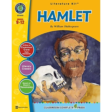 Hamlet Literature Kit, Grades 9-12, ISBN 978-1-77167-003-6