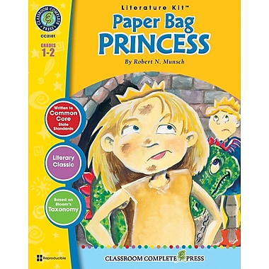 eBook: Paper Bag Princess Literature Kit, Grades 1-2 (PDF version, 1-User Download), ISBN 978-1-55319-320-3