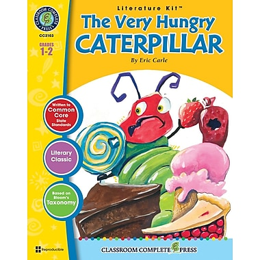 eBook: The Very Hungry Caterpillar Literature Kit, Grades 1-2 (PDF version, 1-User Download), ISBN 978-1-55319-322-7