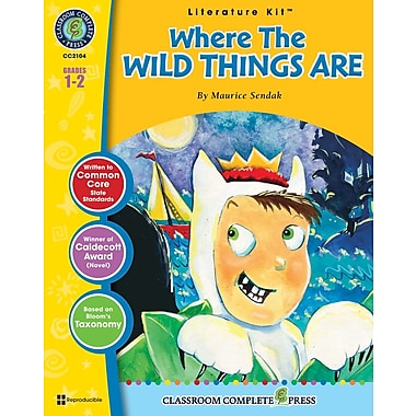 eBook: Where the Wild Things Are Literature Kit, Grades 1-2 (PDF version, 1-User Download), ISBN 978-1-55319-323-4