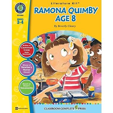 eBook: Ramona Quimby, Age 8 Literature Kit, Grades 3-4 (PDF version, 1-User Download), ISBN 978-1-55319-328-9