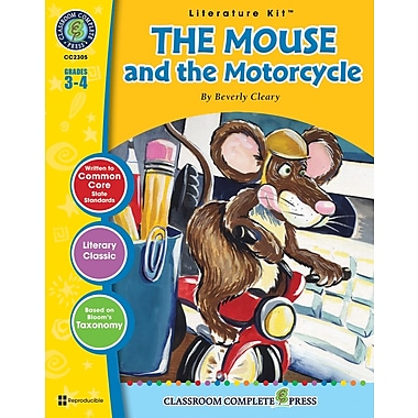The Mouse and the Motorcycle Literature Kit, Grades 3-4, ISBN 978-1-55319-329-6