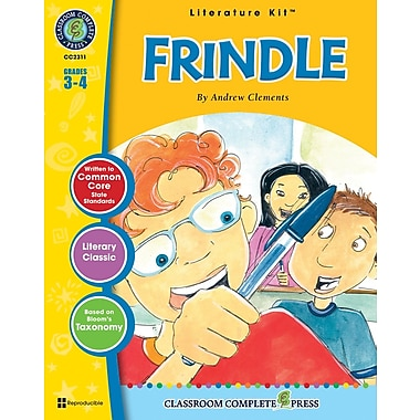 Frindle Literature Kit, Grades 3-4, ISBN 978-1-55319-489-7