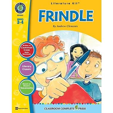 eBook: Frindle Literature Kit, Grades 3-4 (PDF version, 1-User Download), ISBN 978-1-55319-489-7