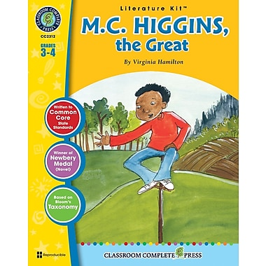M.C. Higgins, the Great Literature Kit, 3e et 4e années, ISBN 978-1-55319-555-9