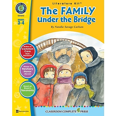 The Family Under the Bridge Literature Kit, Grades 3-4, ISBN 978-1-55319-556-6