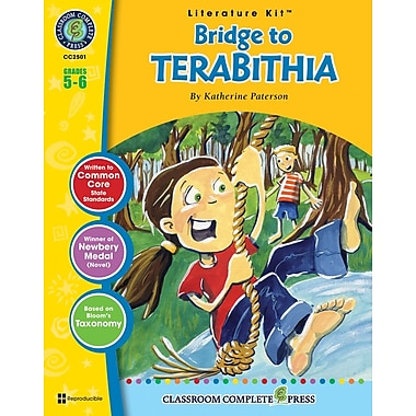 eBook: Bridge to Terabithia Literature Kit, Grade 5-6 (PDF version, 1-User Download), ISBN 978-1-55319-333-3