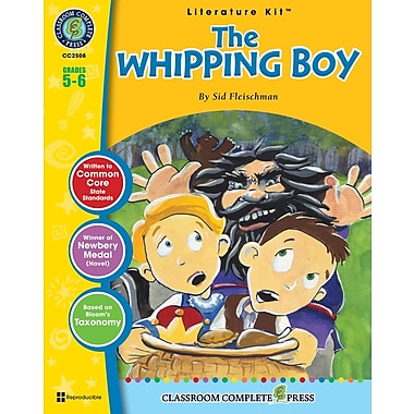 The Whipping Boy Literature Kit, 5e et 6e années, ISBN 978-1-55319-340-1