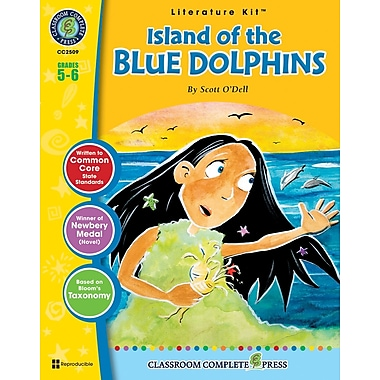 eBook: Island of the Blue Dolphins Literature Kit, Grade 5-6 (PDF version, 1-User Download), ISBN 978-1-55319-341-8