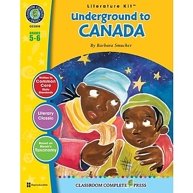 eBook: Underground to Canada Literature Kit, Grade 5-6 (PDF version, 1-User Download), ISBN 978-1-55319-342-5