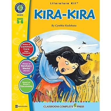 eBook: Kira-Kira Literature Kit, Grade 5-6 (PDF version, 1-User Download), ISBN 978-1-55319-445-3