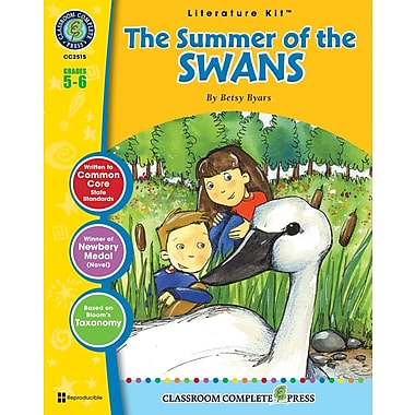 The Summer of the Swans Literature Kit, Grade 5-6, ISBN 978-1-55319-448-4