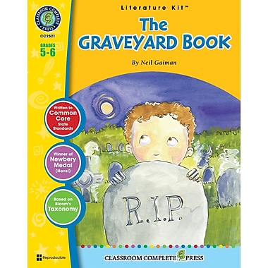eBook: The Graveyard Book Literature Kit, Grade 5-6 (PDF version, 1-User Download), ISBN 978-1-55319-559-7