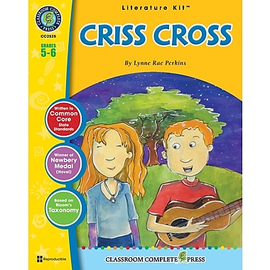 eBook: Criss Cross Literature Kit, Grade 5-6 (PDF version, 1-User Download), ISBN 978-1-55319-595-5