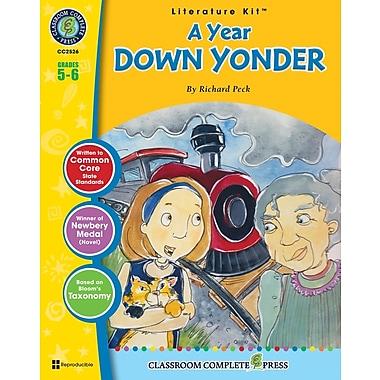 eBook: A Year Down Yonder Literature Kit, Grade 5-6 (PDF version, 1-User Download), ISBN 978-1-55319-596-2