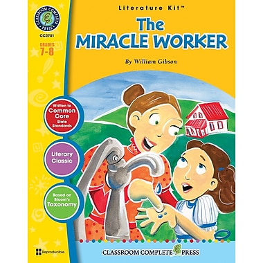 eBook: The Miracle Worker Literature Kit, Grades 7-8 (PDF version, 1-User Download), ISBN 978-1-55319-383-8