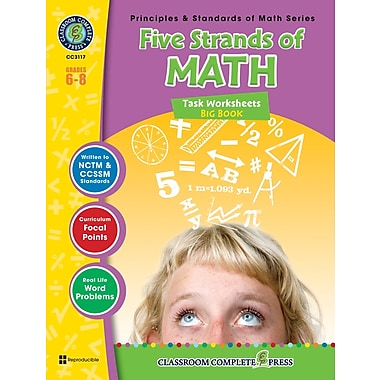 Five Strands of Math - Tasks Big Book, 6e à 8e années, ISBN 978-1-55319-475-0
