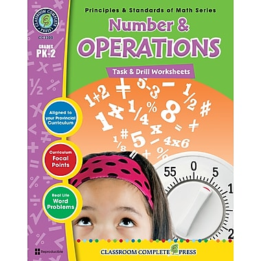 Number & Operations - Task & Drill Sheets, Grades PK-2, ISBN 978-1-55319-534-4