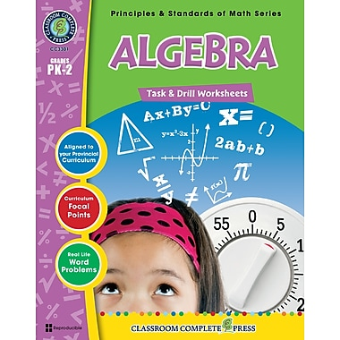 eBook: Algebra - Task & Drill Sheets, Grades PK-2 (PDF version, 1-User Download), ISBN 978-1-55319-535-1