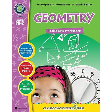 Geometry - Task & Drill Sheets, Grades PK-2, ISBN 978-1-55319-536-8