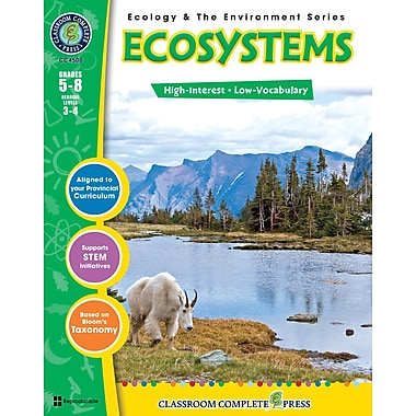 eBook: Ecosystems, Grades 5-8 (PDF version, 1-User Download), ISBN 978-1-55319-366-1