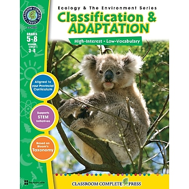 eBook: Classification & Adaptation, Grades 5-8 (PDF version, 1-User Download), ISBN 978-1-55319-367-8