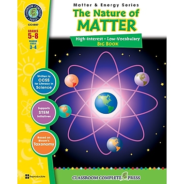 The Nature of Matter Big Book, Grades 5-8, ISBN 978-1-55319-373-9