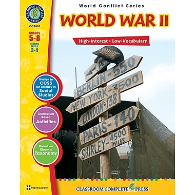 eBook: World War II, Grades 5-8 (PDF version, 1-User Download), ISBN 978-1-55319-357-9