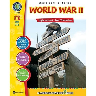 World War II, 5e à 8e années, livre num. (téléch. 1 util.), ISBN 978-1-55319-357-9, anglais