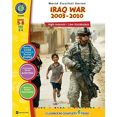Iraq War, 5e à 8e années, livre num. (téléch. 1 util.), ISBN 978-1-55319-364-7, anglais