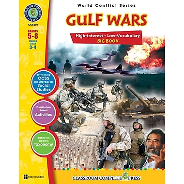 eBook: Gulf Wars Big Book, Grades 5-8 (PDF version, 1-User Download), ISBN 978-1-55319-365-4