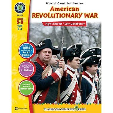 American Revolutionary War, 5e à 8e années, ISBN 978-1-55319-553-5